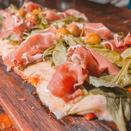 Pizza Rucula y Parmesano