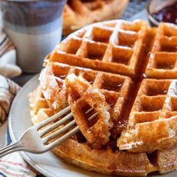 2 Waffles DDL & 1/4 kg Helado