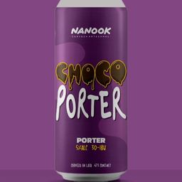 Cerveza Nanook Choco Porter 473 ml