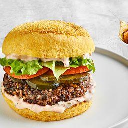 Vegan Burger 2.0 & Chips