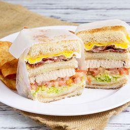 Gatsby Club Sandwich