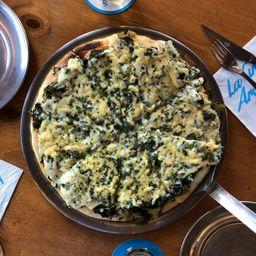 Pizza Verdura & Salsa Blanca