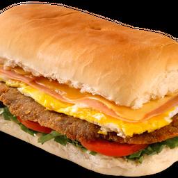 Sandwich de Milanesa de Ternera Completa