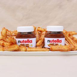 Churros Fiesta con Nutella