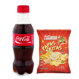 Combo Papas & Bebida 500ml