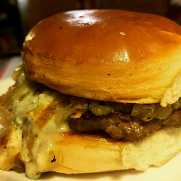 Combo Bluecheese Burger