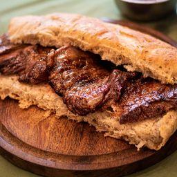Sándwich Lomopan