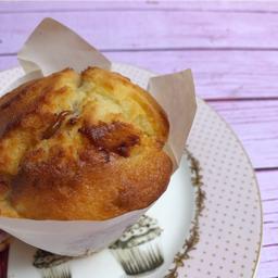 Muffin de Banana con Dulce de Leche.