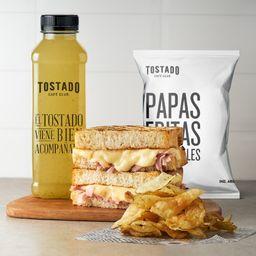Tostado + Limonada + Gauchitas
