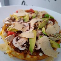 Waffle Vegetariano