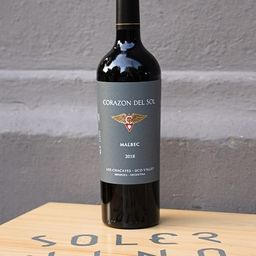 Corazon Del Sol Malbec 750ml.