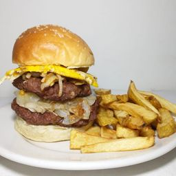 Burger Bart Doble