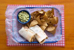Burrito de Pollo O Carne