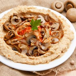 Hummus Champignones