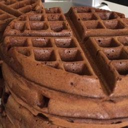 Waffle Choco Dulce de Leche