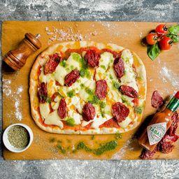 Pizza Vegana Tijuana