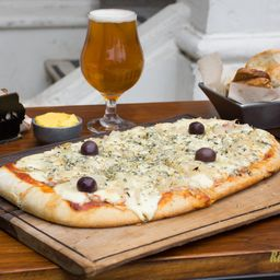 Pizza Fugazzeta y Roquefort