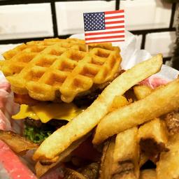 Combo Waffle Burger