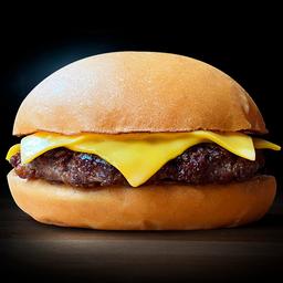 Cheeseburger Simple & Papas
