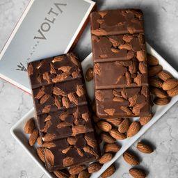 Tableta de Almendras de Chocolate Leche