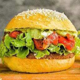 Yellow Notco Burger