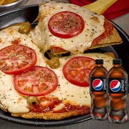 Mila Pizza Napolitana para 2 & 2 Bebidas