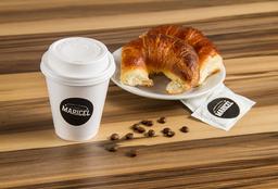Combo Café con Leche Mediano + 2 Medialunas