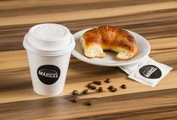Combo Café con Leche Mediano + Medialuna