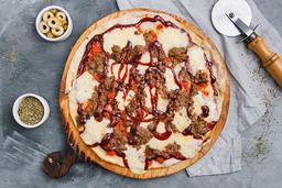 Pizza Carne y BBQ