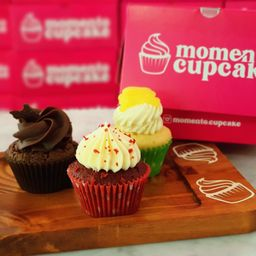 Mini Cupcake Pack X 3