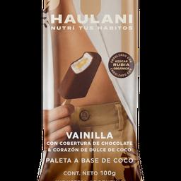 Vainilla Rellena de Dulce de Coco Bañada