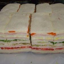 Sándwiches Triples Lechuga & Zanahoria x 12
