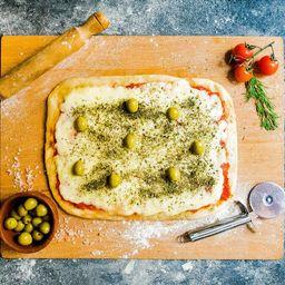 Pizza Rústica de Muzzarella