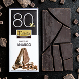 Tableta de Chocolate Amargo 80% Cacao