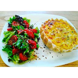 Tarta Pollo y Puerro