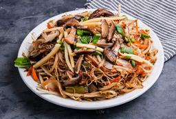 Chao Mi Fen con Verduras Mixtas