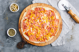 Pizza Choclo & Jamón