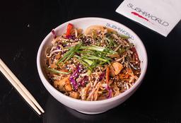 Chow Mein & Bebida