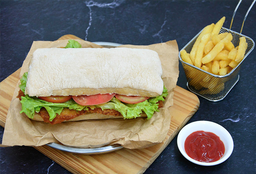 Combo Rappi - Club Chicken Sándwich + Acompañamiento
