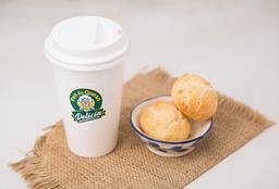 2 panes de queso & café