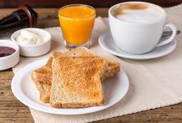 Combo Rappi - Tostadas con Mermelada + Café