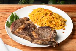 Costeleta de Carne a la Riojana
