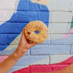 Donut Cheesecake de Maracuyá