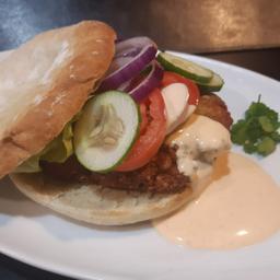 Falafel Chiri Burger