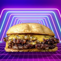 Cheese Burger Doble