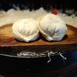 Empanada de Jamon Asado y Queso Pategras