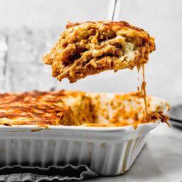Lasagna de Carne Congelada