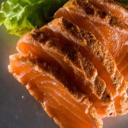 Sashimi de Salmón Sellado X 5