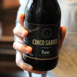 Cinco Sabios Porter 500 ml