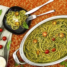 Spaghetti con Pesto